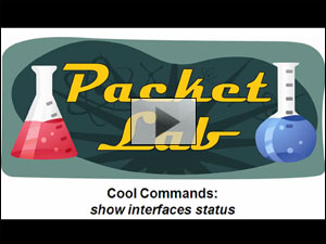 Cool Cisco IOS Commands - show interfaces status