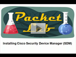 Installing Cisco Security Device Manager (SDM) - Part 1