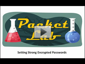 Setting Strong Encrypted Passwords On Cisco Devices - Part 1