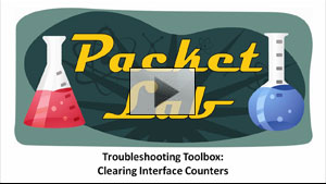 Troubleshooting Toolbox: Clearing Interface Counters